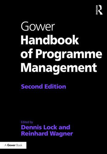 Gower Handbook of Programme Management book cover