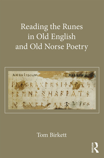 Reading the Runes in Old English and Old Norse Poetry book cover
