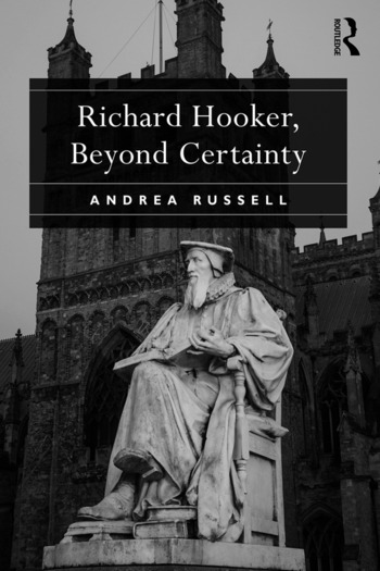 Richard Hooker, Beyond Certainty book cover