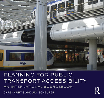 Planning for Public Transport Accessibility An International Sourcebook book cover