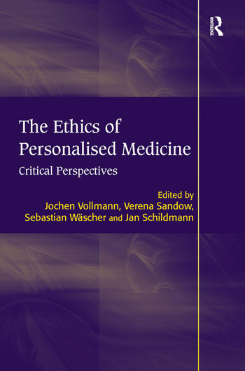 The Ethics of Personalised Medicine Critical Perspectives book cover