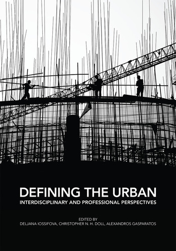 Defining the Urban Interdisciplinary and Professional Perspectives book cover