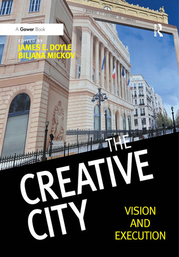 The Creative City Vision and Execution book cover