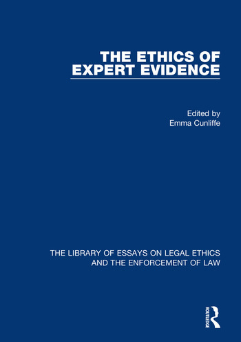 The Ethics of Expert Evidence book cover