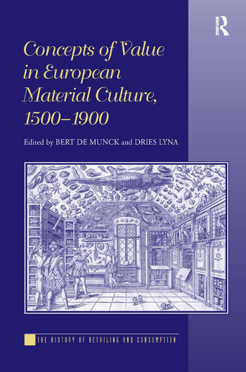 Concepts of Value in European Material Culture, 1500-1900 book cover
