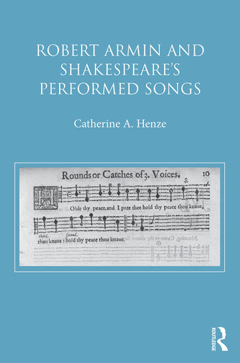 Robert Armin and Shakespeare's Performed Songs book cover