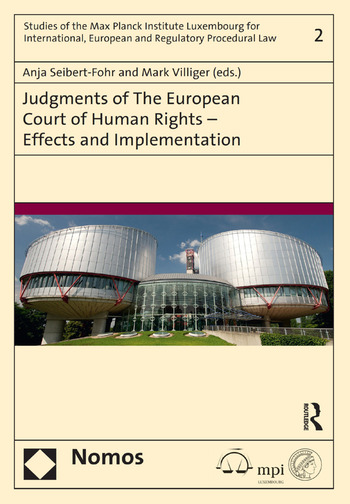 Judgments of the European Court of Human Rights - Effects and Implementation book cover
