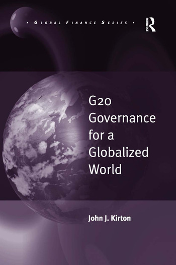 G20 Governance for a Globalized World book cover