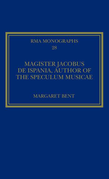 Magister Jacobus de Ispania, Author of the Speculum musicae book cover