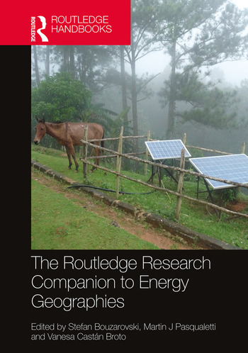 The Routledge Research Companion to Energy Geographies book cover