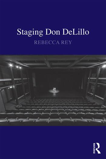 Staging Don DeLillo book cover
