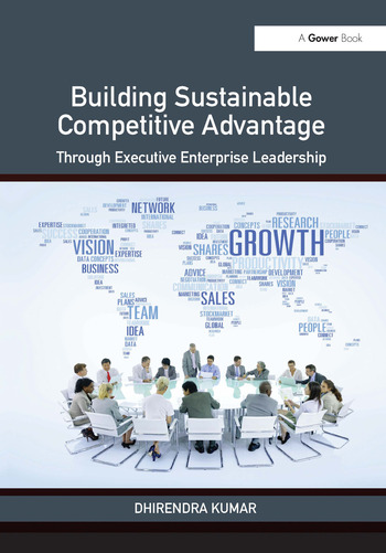 Building Sustainable Competitive Advantage Through Executive Enterprise Leadership book cover
