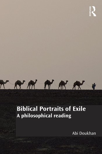 Biblical Portraits of Exile A philosophical reading book cover
