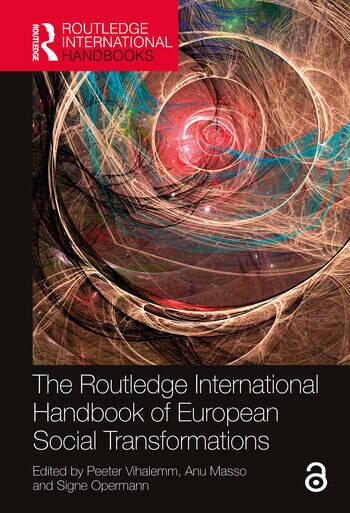 The Routledge International Handbook of European Social Transformations book cover