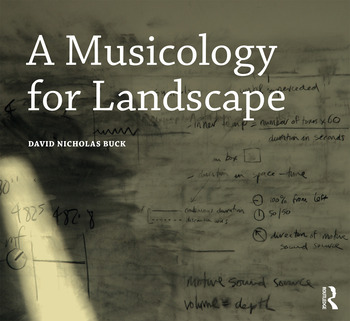 A Musicology for Landscape book cover