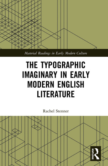 The Typographic Imaginary in Early Modern English Literature book cover