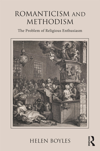 Romanticism and Methodism The problem of religious enthusiasm book cover