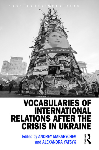 Vocabularies of International Relations after the Crisis in Ukraine book cover