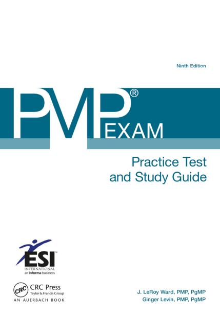 PMP® Exam Practice Test and Study Guide, Ninth Edition book cover
