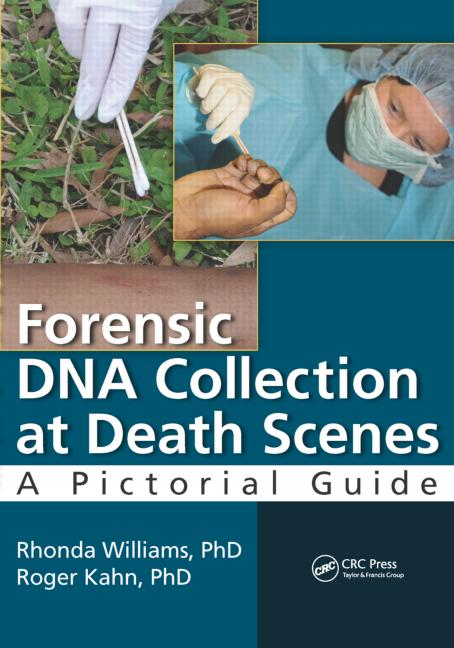 Forensic DNA Collection at Death Scenes A Pictorial Guide book cover