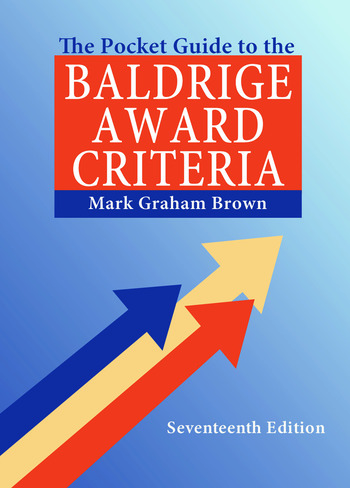 The Pocket Guide to the Baldrige Award Criteria (5-Pack) book cover
