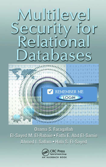 Multilevel Security for Relational Databases book cover