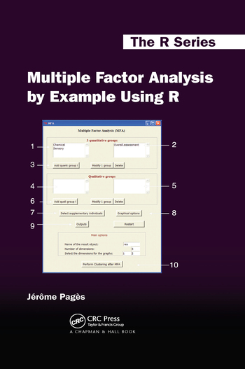 Multiple Factor Analysis by Example Using R book cover