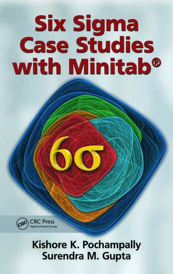 Six Sigma Case Studies with Minitab® book cover