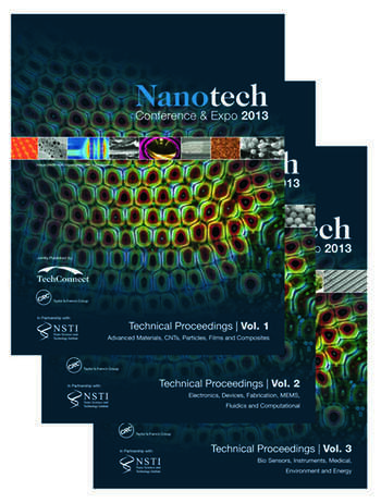 Nanotech 2013 Technical Proceedings of the 2013 NSTI Nanotechnology Conference and Expo, Volumes 1-3 book cover