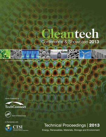 Clean Technology 2013 Bioenergy, Renewables, Storage, Grid, Waste and Sustainability Technical Proceedings of the 2013 CTSI Clean Technology Conference and Expo book cover