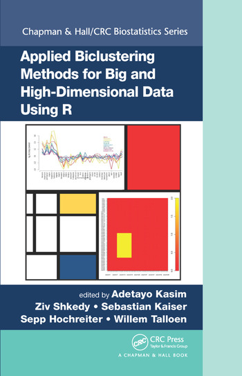 Applied Biclustering Methods for Big and High-Dimensional Data Using R book cover
