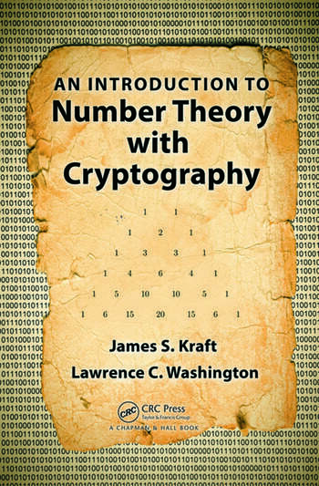 An Introduction to Number Theory with Cryptography book cover