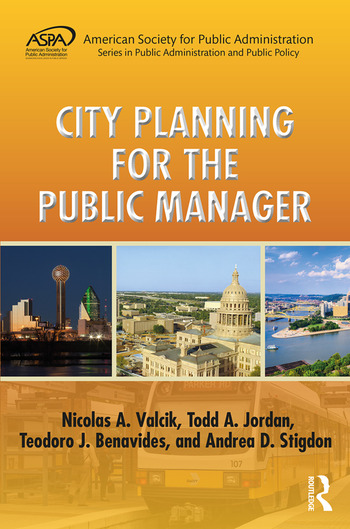 City Planning for the Public Manager book cover
