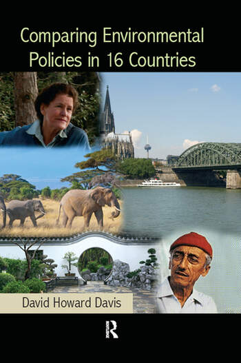 Comparing Environmental Policies in 16 Countries book cover
