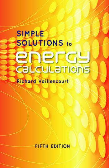 Simple Solutions to Energy Calculations, Fifth Edition book cover