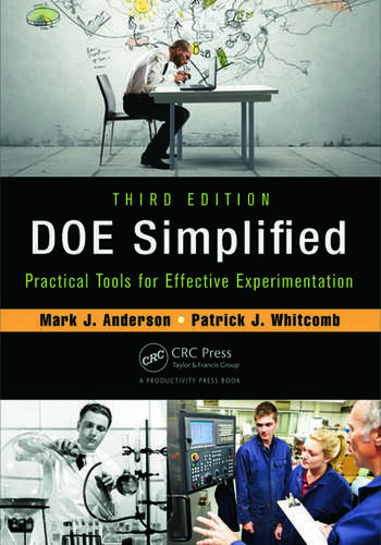 DOE Simplified Practical Tools for Effective Experimentation, Third Edition book cover