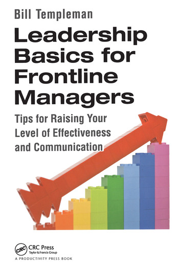 Leadership Basics for Frontline Managers Tips for Raising Your Level of Effectiveness and Communication book cover