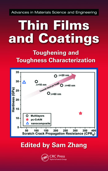 Thin Films and Coatings Toughening and Toughness Characterization book cover