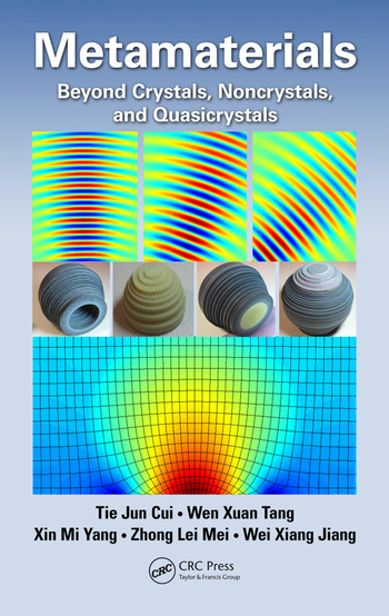Metamaterials Beyond Crystals, Noncrystals, and Quasicrystals book cover