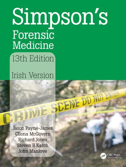 Simpson's Forensic Medicine Irish Version book cover