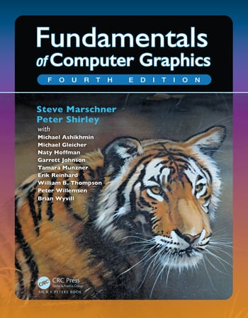 Fundamentals of Computer Graphics, Fourth Edition book cover