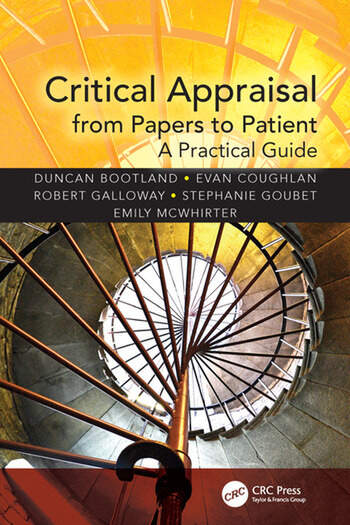 Critical Appraisal from Papers to Patient A Practical Guide book cover