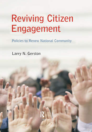 Reviving Citizen Engagement Policies to Renew National Community book cover