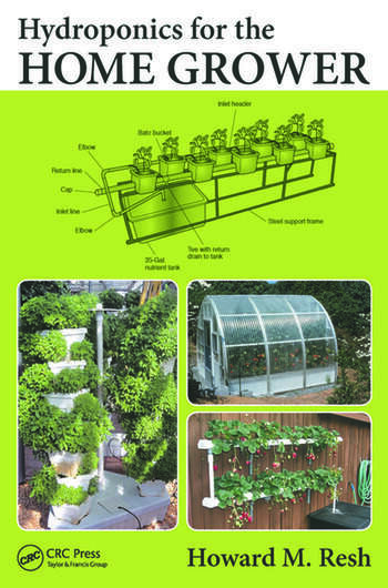 Hydroponics for the Home Grower book cover