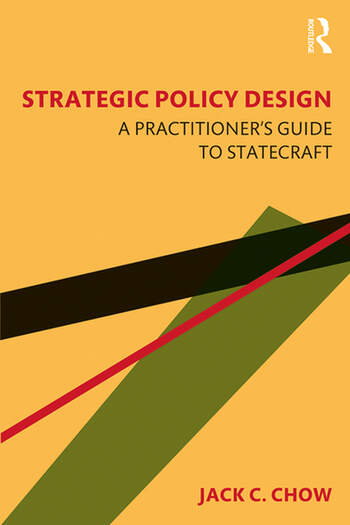 Strategic Policy Design A Practitioner's Guide to Statecraft book cover