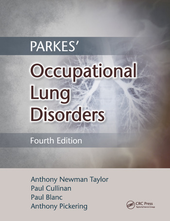 Parkes' Occupational Lung Disorders book cover