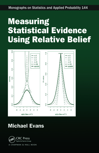 Measuring Statistical Evidence Using Relative Belief book cover