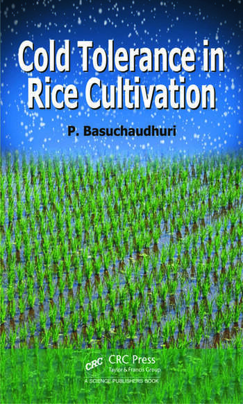 Cold Tolerance in Rice Cultivation book cover