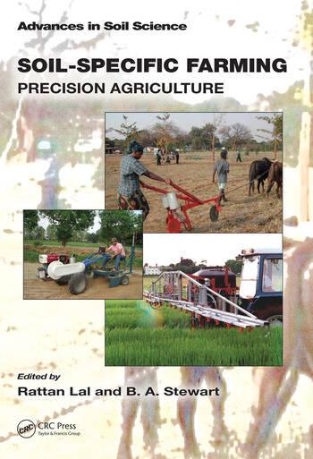 Soil-Specific Farming Precision Agriculture book cover