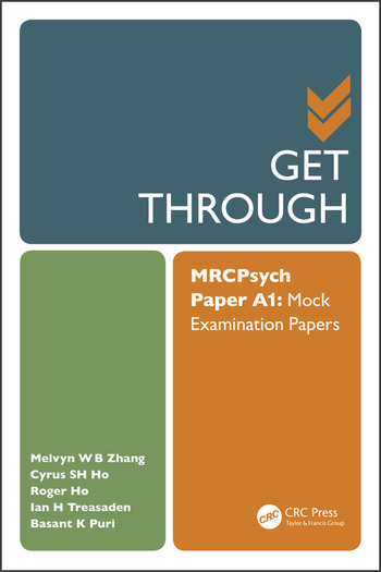 Get Through MRCPsych Paper A1 Mock Examination Papers book cover